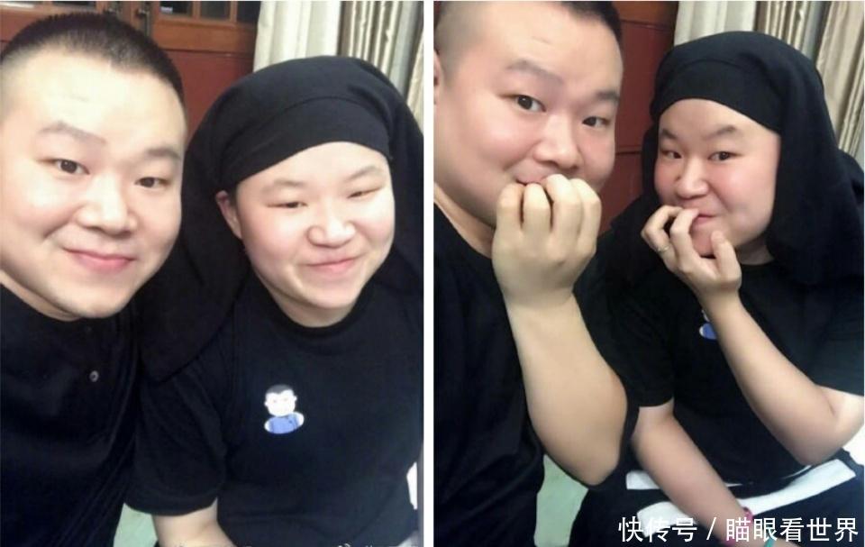 """岳云鹏找到""""失散多年的妹妹""""网友:世上还真有两片一样的叶子"""