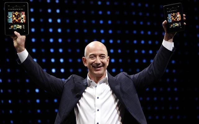 亚马逊CEO成有史以来全球最大富豪 身家达1051亿美元