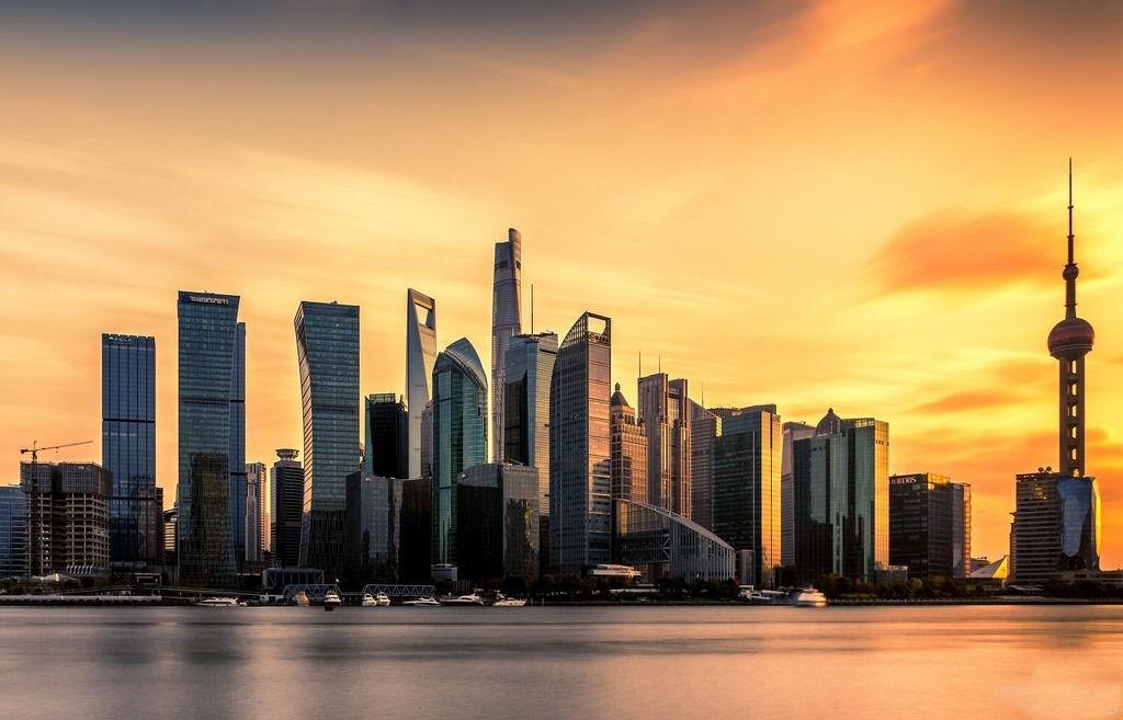 世界级大城市天际线高清美图,第一张中国上海