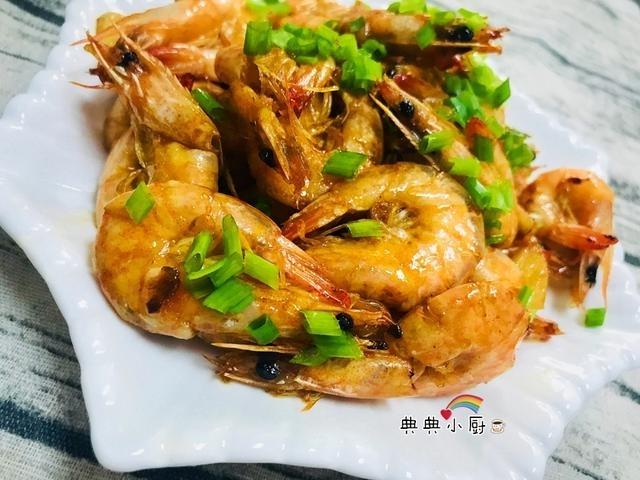 放一点它烧虾更香更好吃,从头吃到尾连壳都不