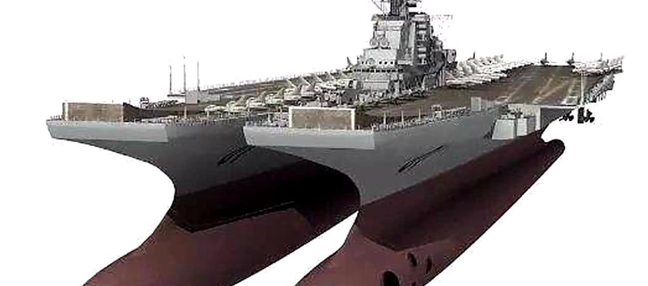 中国将打造18万吨超级航母 100架歼20上舰 轻