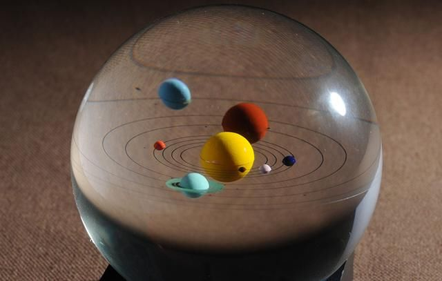 小科普:太阳系八大行星的公转与自转时间,记住
