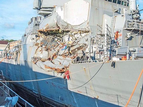 (文摘)美军方承认:美军驱逐舰与菲货轮相撞 过错在美 - aihua191 -    aihua191的 博 客