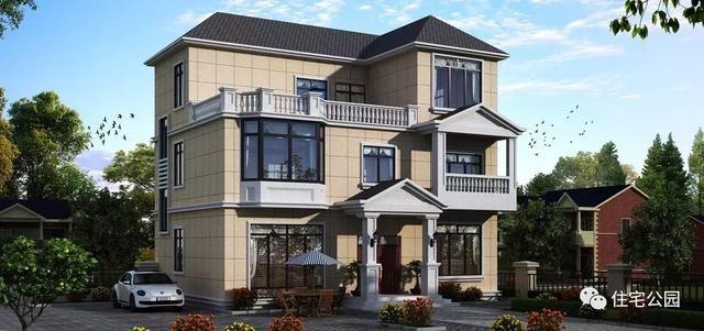 面宽8米造价13万起,2018农村自建房,这10套户型最适合咱老百姓