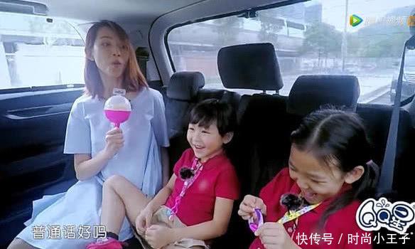 蔡少芬两女儿参加内地真人秀,狂飙英语粤语,她