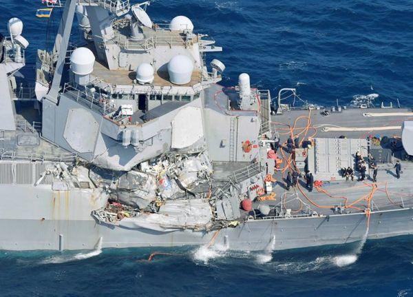 中国媒体两篇文章令美不安 促美海军赶紧整改(图)