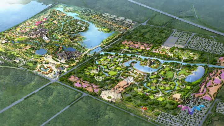 """""""世园会""""建设加速推进:地形整理基本完工 附属工程全面启动"""