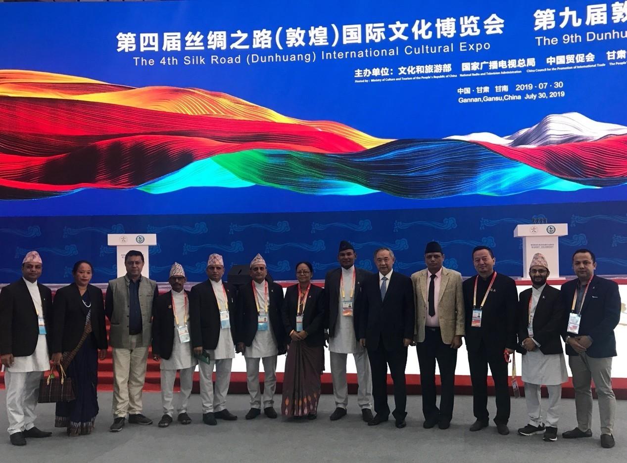 """中国世界和平基金会率国际代表团到访甘肃并出席丝绸之路""""一会一节"""""""