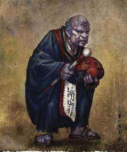 日本百鬼中排名前十的妖怪,酒吞童子仅第四,第