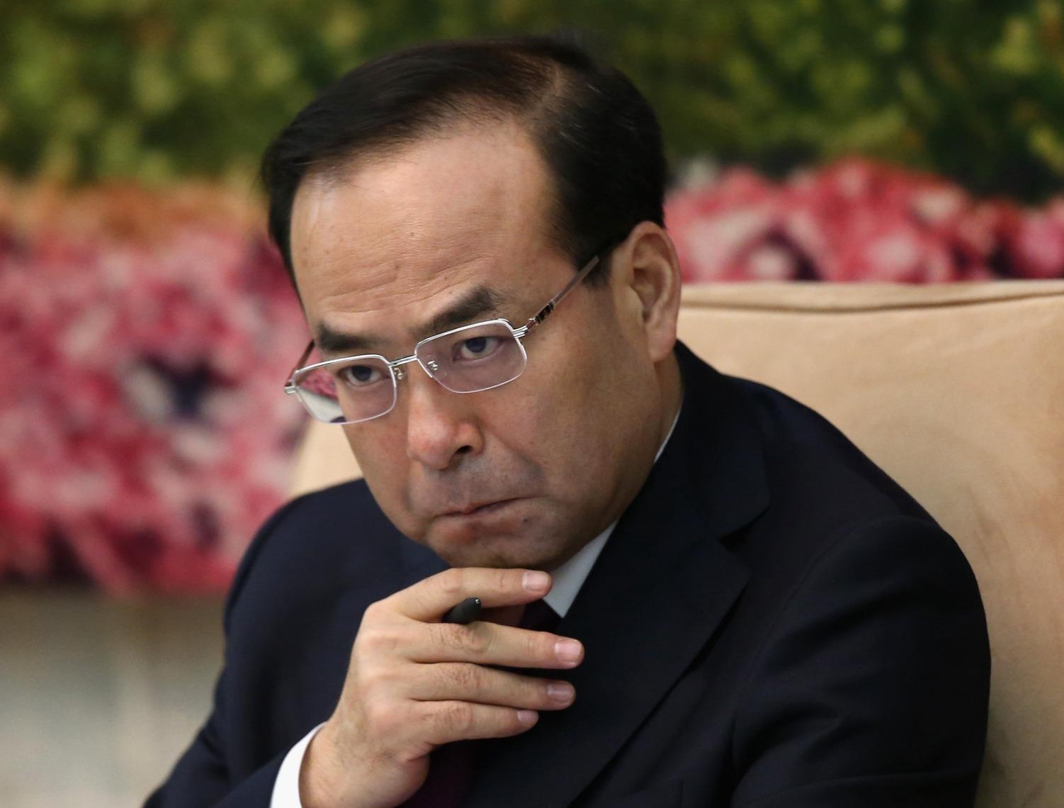 中央政治局委员孙政才涉嫌严重违纪被立案审查