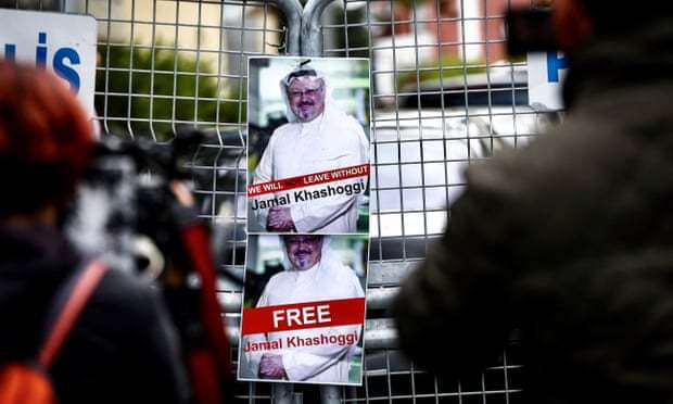 白宫打破沉默 特朗普担忧在土失踪沙特记者的命运