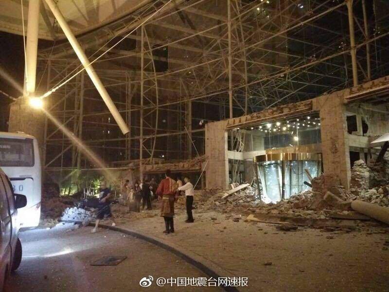 7.0级地震袭击四川阿坝州九寨沟县【图文直播】