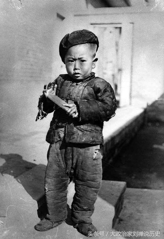 美国人拍摄的1940年的伪满洲国人们生活场景