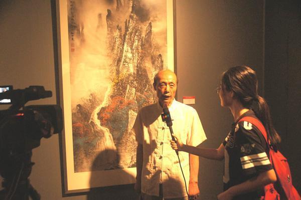 中国著名画家杜中良作品展将亮相济南艺博会