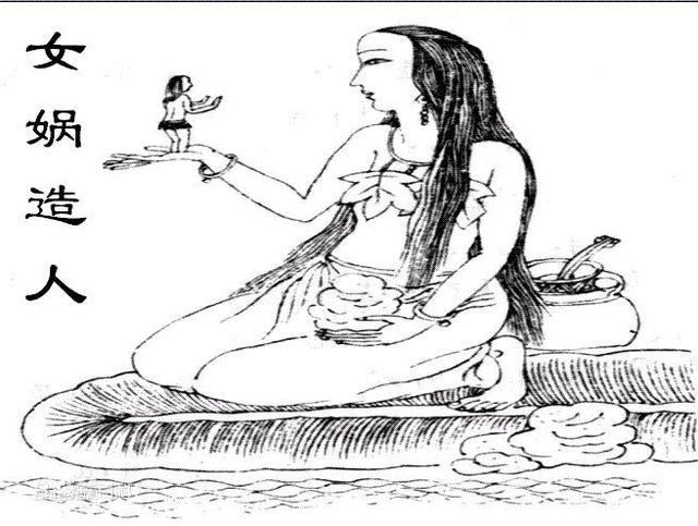 神话解读之女娲造人女娲氏带领华夏先祖的生殖