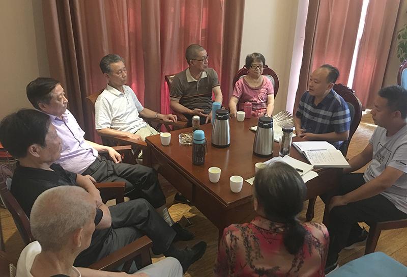 南充市民建顺庆区建安支部召开换届选举人事协